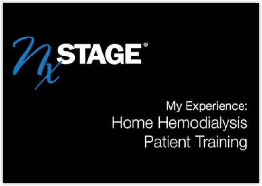 My Experience: Home Haemodialysis Patient Training